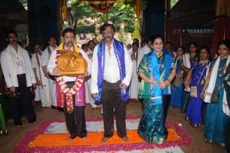 Arrangement of Gurupournima 2012