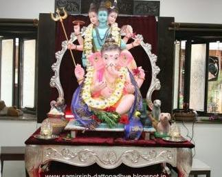 श्री गणॆशजी का श्री अनिरुध्द गुरुक्षेत्रम्‌ में आगमन (Arrival of Shree Ganesh at Shree Aniruddha Gurukshetram)