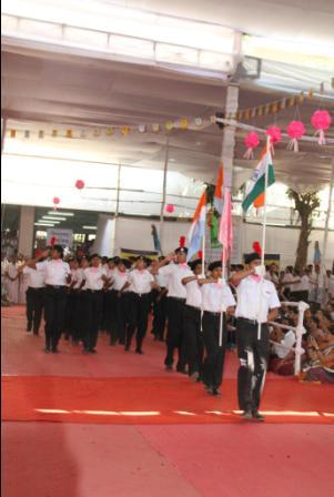 Aniruddha pournima 2012 - Our Parade Team does us Proud