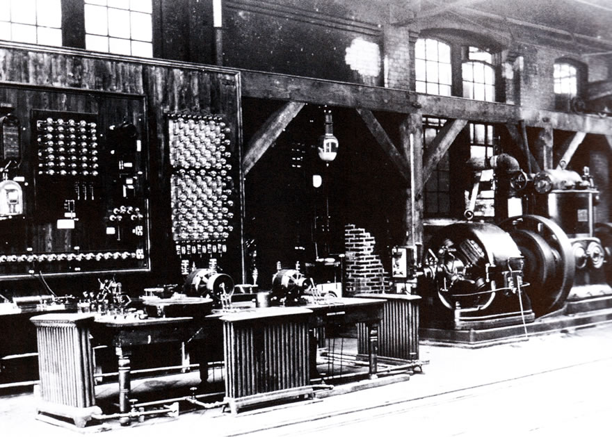 Fire at Dr. Nikola Tesla's Laboratory