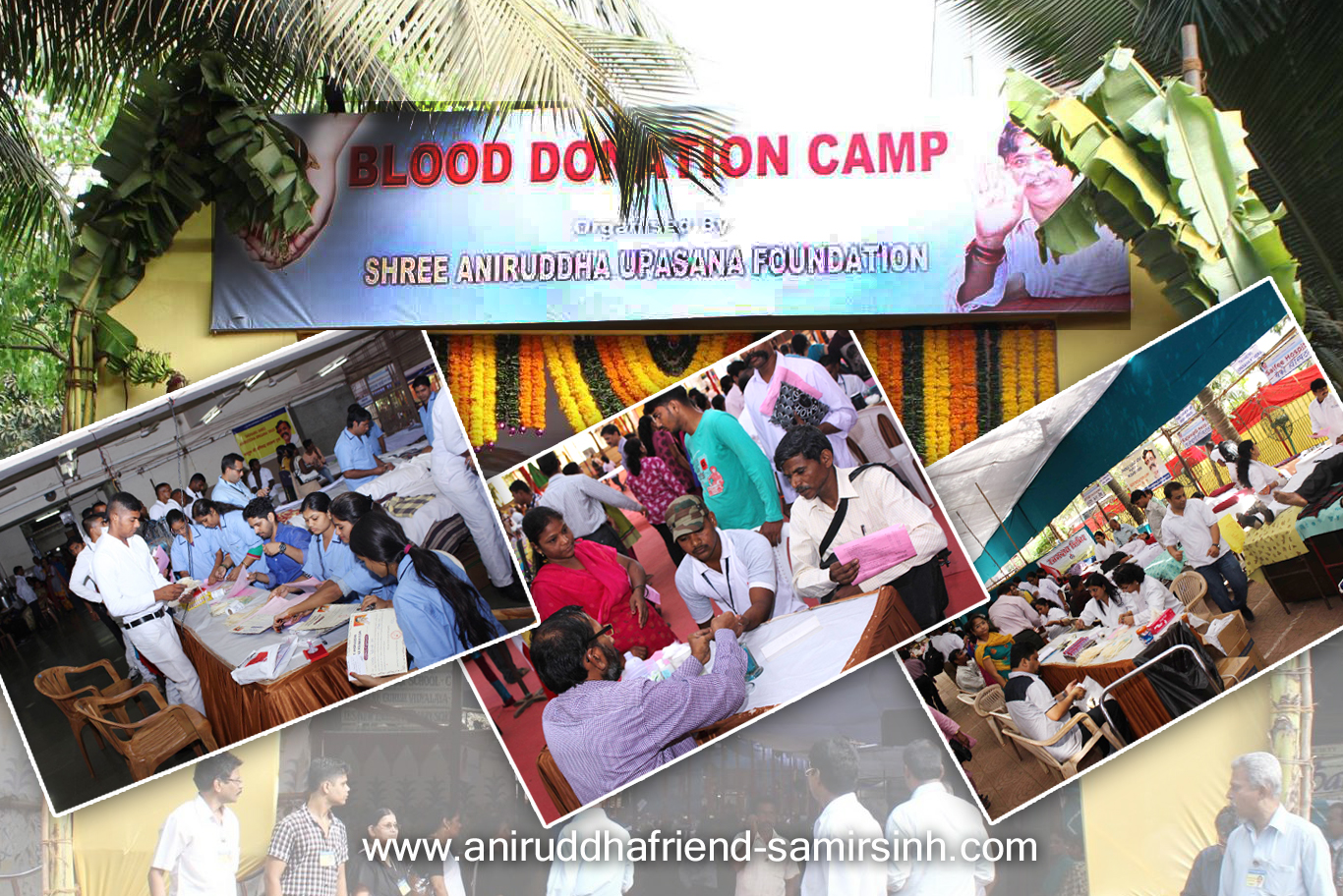 Aniruddha Bapu - Blood Donation camp - 2015 pre
