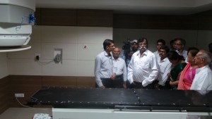 Bapu at Cancer Radiotherapy Department