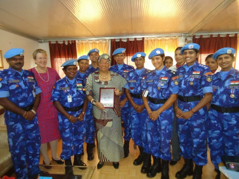 Exemplary service of Indian Women UN Peacekeepers in Liberia