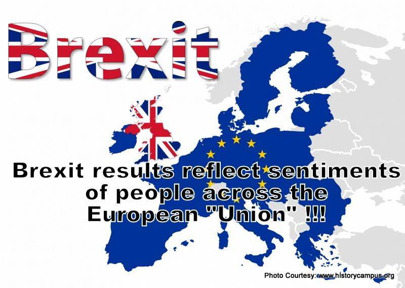 Brexit results, Breakdown of EU – the Strength of the Masses