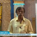 Aniruddha Bapu told in Pitruvachanam 28 Apr 2016 that Words hurt more deeply than weapons