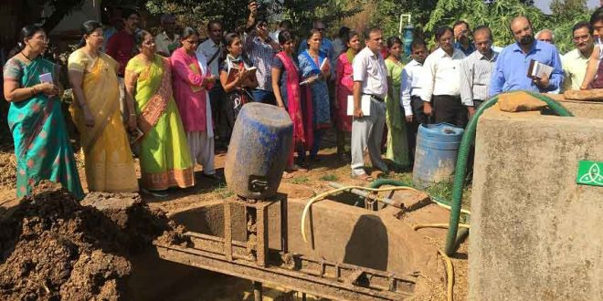 Organic Farming and Bio-gas Project by AIGV at Govidyapitham – Part 4
