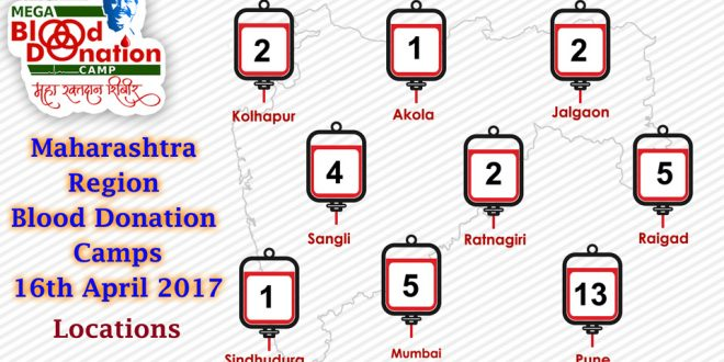 Mega Blood Donation Camp – 16th April 2017